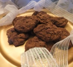 Double Chocolate Delight Cookies