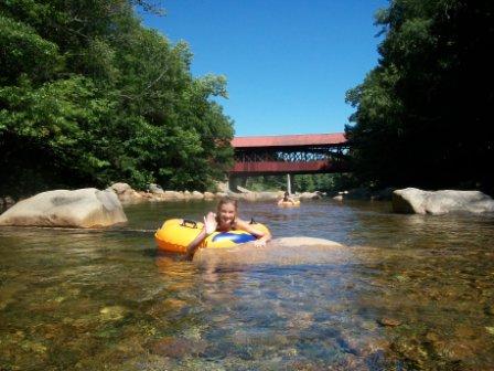 Covered Bridge House/ Saco River