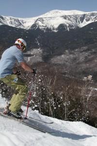 Alpine Skiing in White Mountains